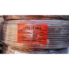 Акустический кабель 2+0,75 медный
