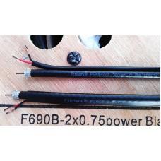 Кабель для видеонаблюдения Finmark F690BV+2+0.75
