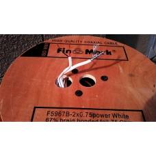 Кабель для видеонаблюдения FINMARK RG-59+2+0.75