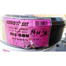 Коаксиальный кабель RG-58(многожильный, 50 Ом)