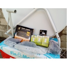 Комплект спутникового ТВ(базовый) HD тюнер 1 ТВ