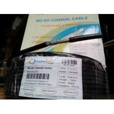 Антенный кабель для наружной установки с водоотталкивающим гелем CommSpace, 100м, 305м